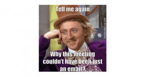 Make internal meetings useful!